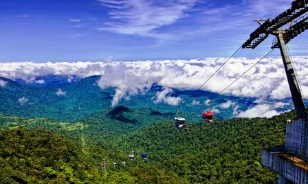 Genting highland cable car
