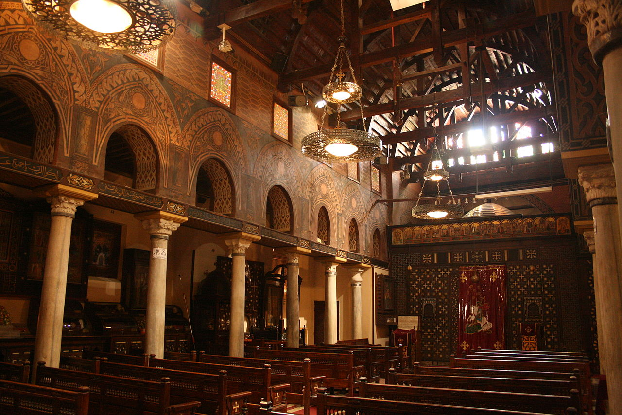 Hanging Church, Old Cairo, Egypt