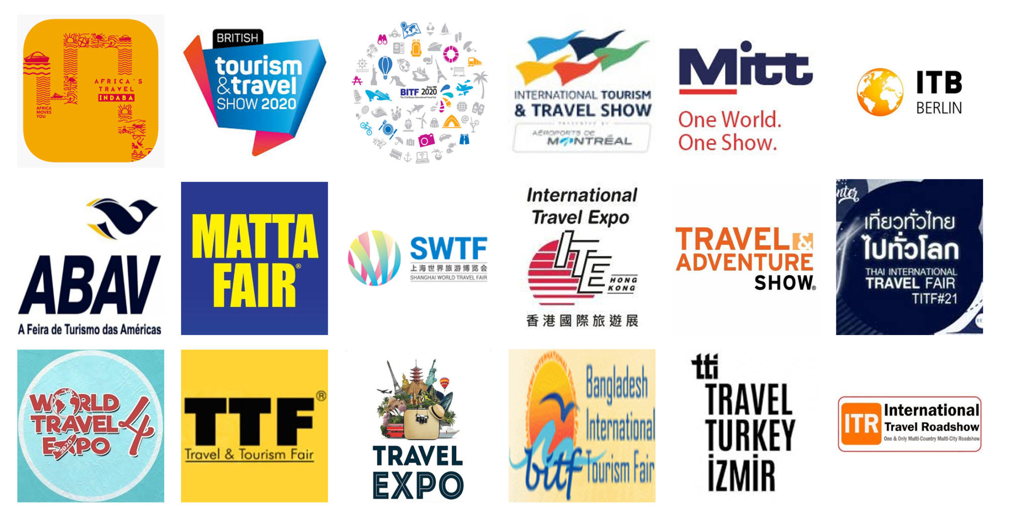 Tourism & Travel Fair & Trade Shows in 2020